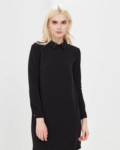 Черное платье прямое Incity