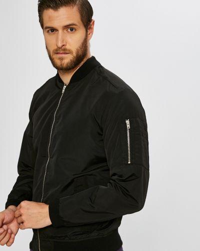 Черная укороченная куртка Jack & Jones