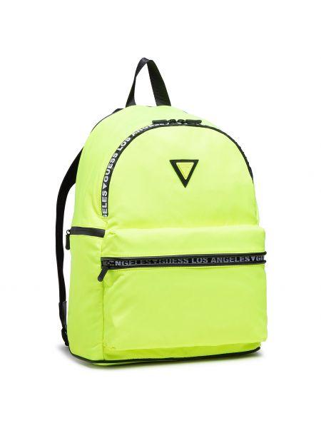 Żółty torba sportowa Guess