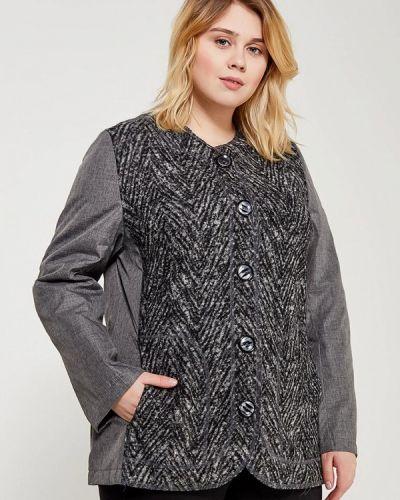 Утепленная куртка весенняя серая Leshar