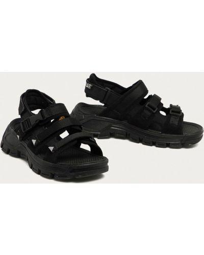 Кожаные сандалии с пряжкой Caterpillar