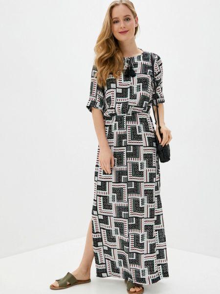 Платье платье-сарафан серое Baon
