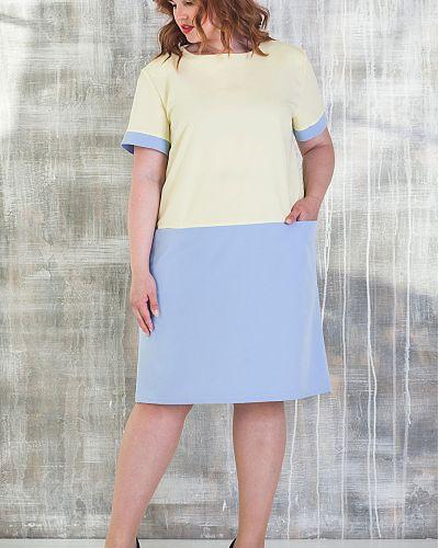 Платье мини платье-сарафан из вискозы азалия