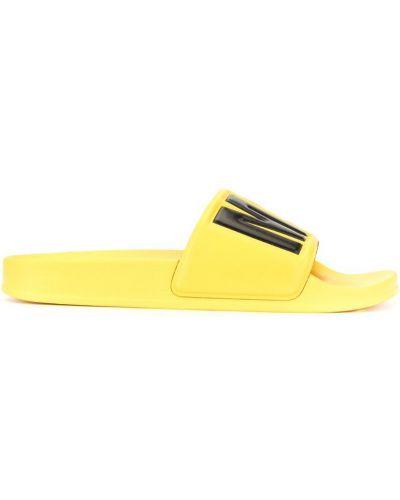Желтые шлепанцы Msgm