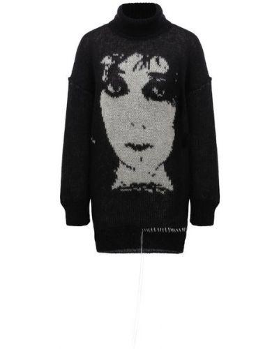 Шерстяной свитер - черный Isabel Benenato