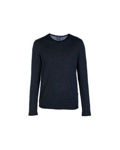 Черный свитер в полоску Strellson