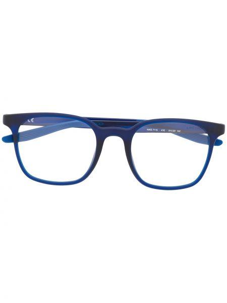 Niebieski prosto oprawka do okularów plac Nike