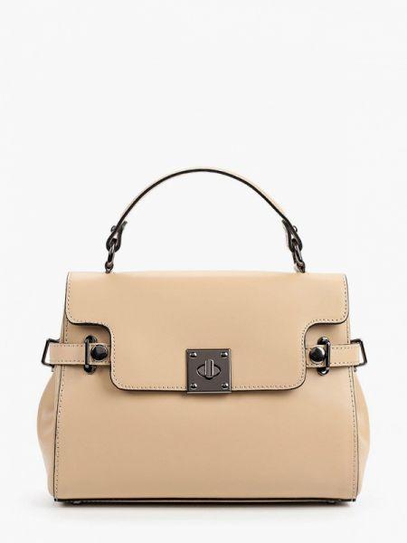 Кожаная сумка - бежевая Pulicati
