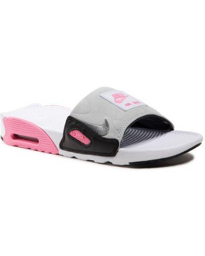 Szare klapki Nike