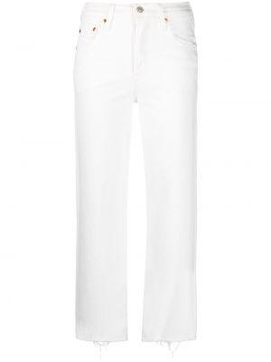 С завышенной талией белые джинсы классические стрейч Levi's®