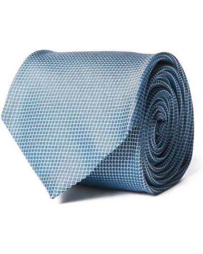 Klasyczny krawat - niebieski Hugo