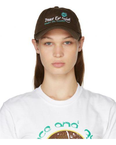 Biała czapka z daszkiem Museum Of Peace And Quiet