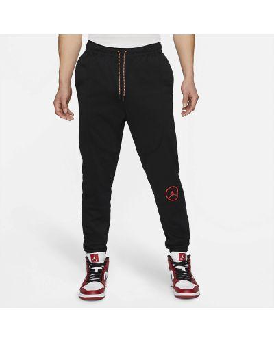 Текстильные красные повседневные классические брюки Jordan