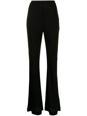 Черные брюки с завышенной талией Dvf Diane Von Furstenberg