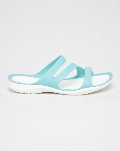 Спортивные сандалии голубой Crocs