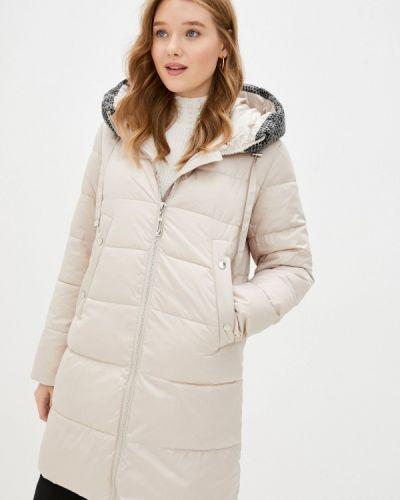 Бежевая утепленная куртка Purelife