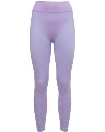 Rajstopy z siateczką - fioletowe Adidas X Ivy Park
