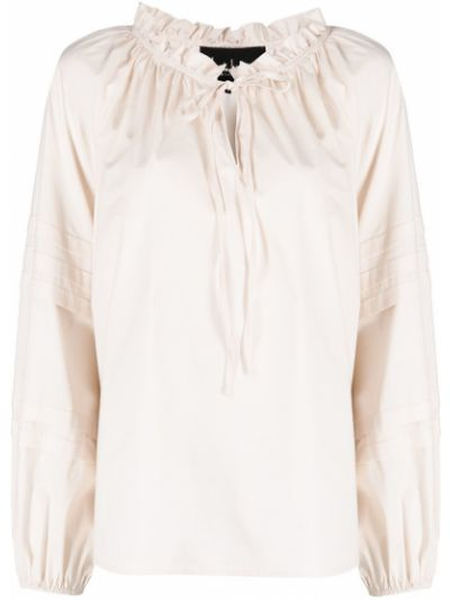 Bluzka bawełniana Nicole Miller