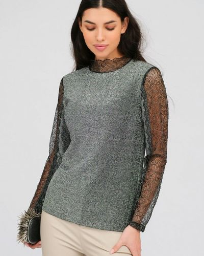 Серебряная блузка Lussotico