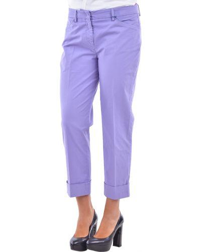 Фиолетовые брюки Incotex