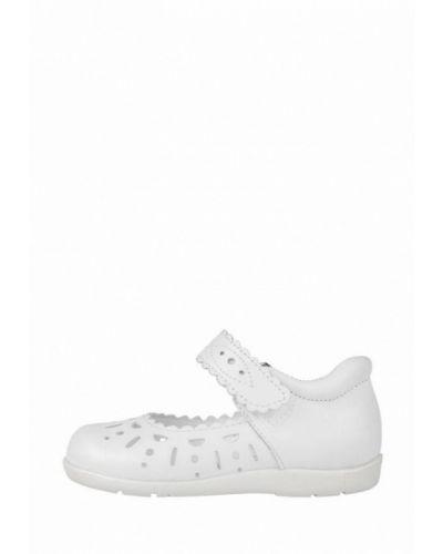Кожаные белые туфли Miracle Me