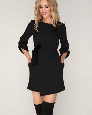 Вечернее платье с запахом деловое Ellcora