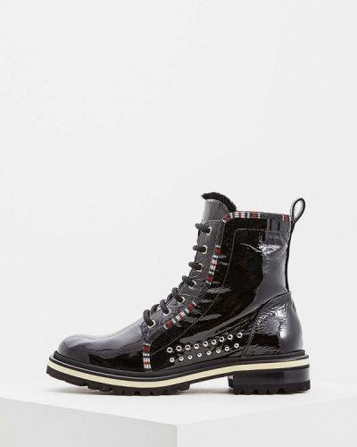 Кожаные ботинки осенние Fabi