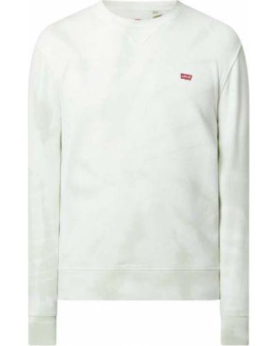 Bluza bawełniana - turkusowa Levi's