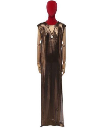 Платье шелковое Lanvin