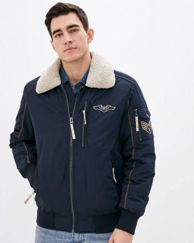 Утепленная синяя куртка Vizani