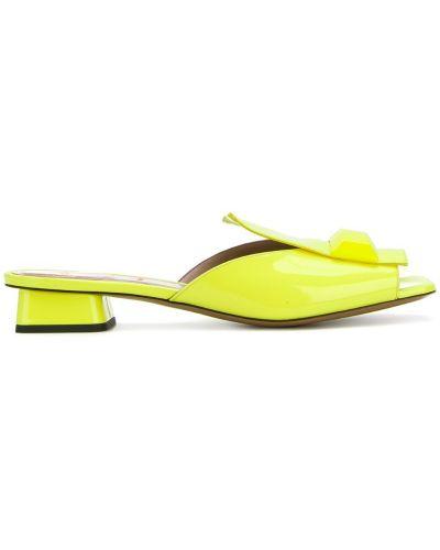 Желтые мюли Rayne