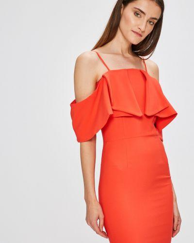 Платье мини однотонное прямое Miss Poem