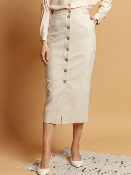 Текстильная брендовая юбка Insideu