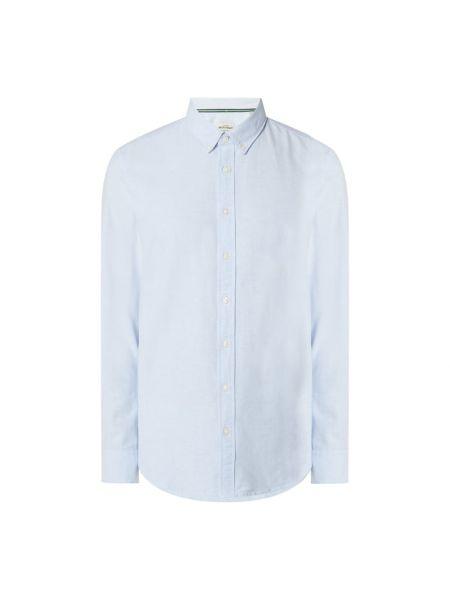 Bawełna bawełna z rękawami koszula oxford z mankietami Montego