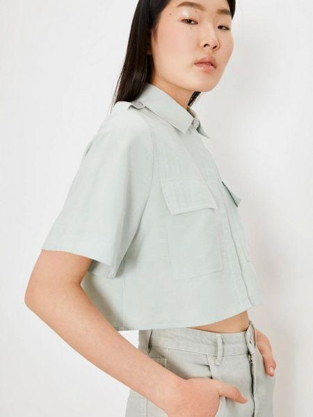 Блузка с коротким рукавом весенний салатовый Lime