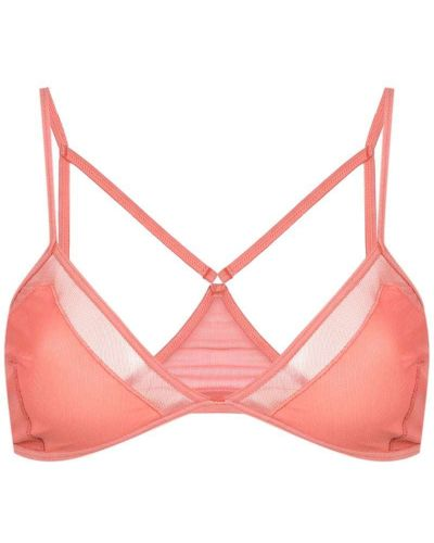 Розовый бюстгальтер Olympiah