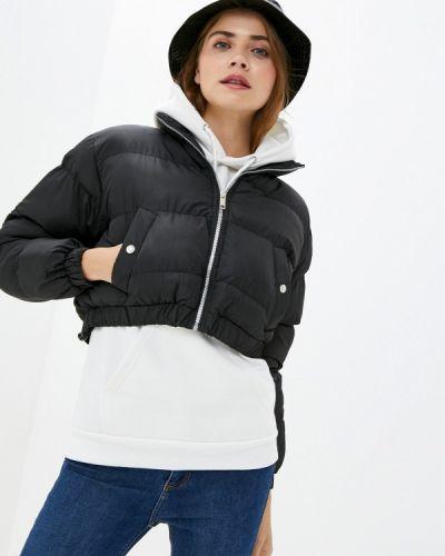 Теплая черная утепленная куртка Brave Soul