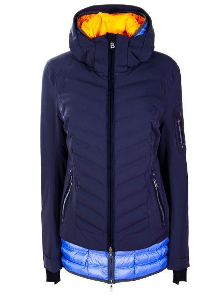 С рукавами синий спортивный костюм с карманами на молнии Bogner
