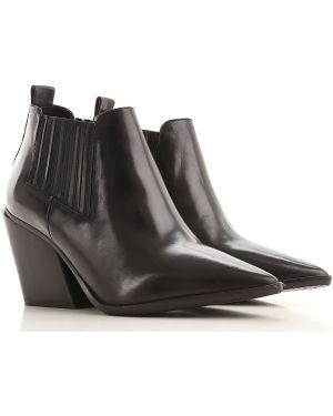 Buty czarne jesienne Elvio Zanon