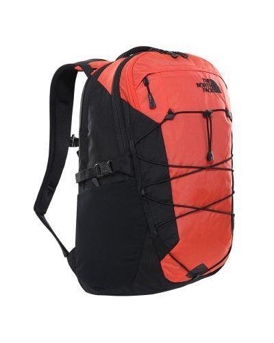 Pomarańczowy plecak z nylonu oversize The North Face
