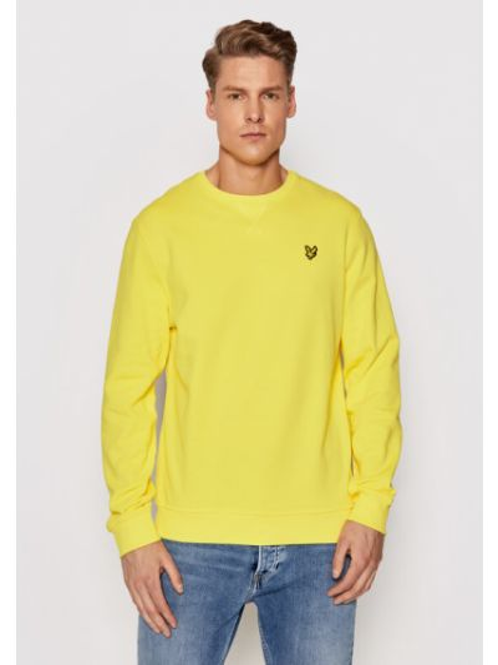Bluza - żółta Lyle & Scott