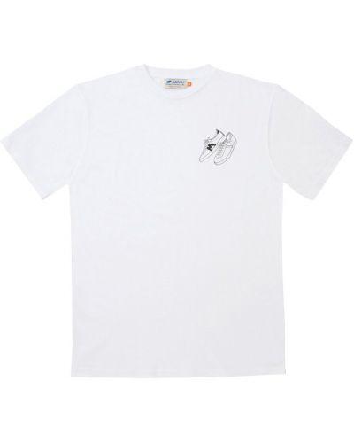 Biały t-shirt Karhu