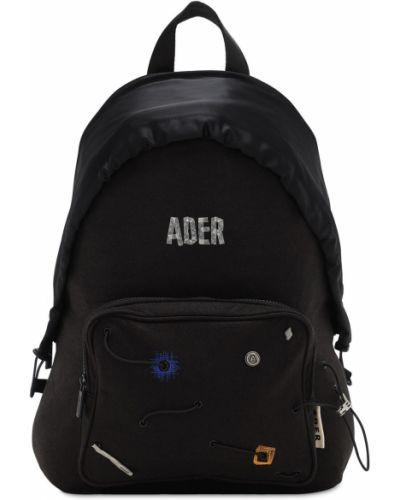 Nylon z paskiem czarny plecak na paskach Ader Error