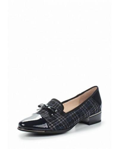 Кожаные туфли замшевые Baden