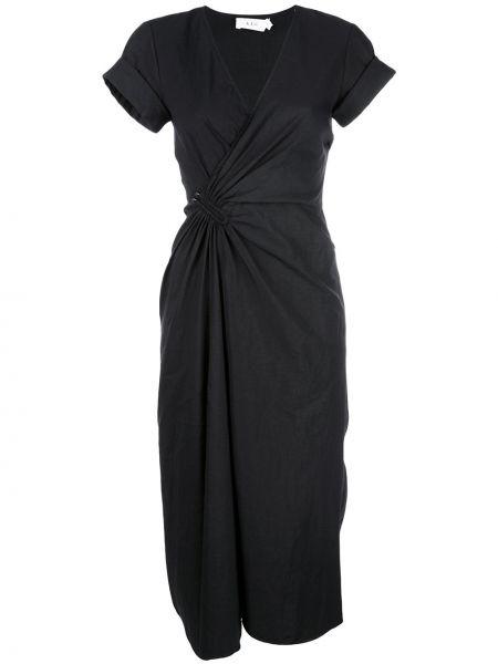 Платье мини с запахом на молнии Alc
