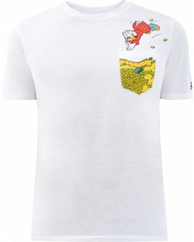 Белая футболка с логотипом Mc2 Saint Barth