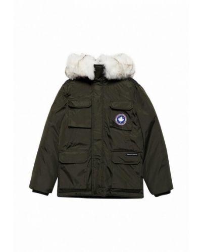 Куртка теплая зеленый Paragoose