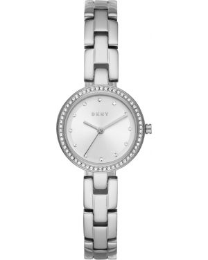 Zegarek miejski srebrny Dkny