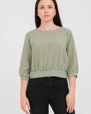 Блузка зеленый весенний Mankato