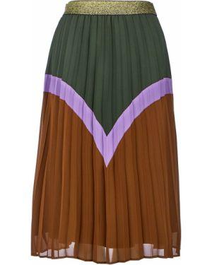 Плиссированная юбка с поясом Ichi